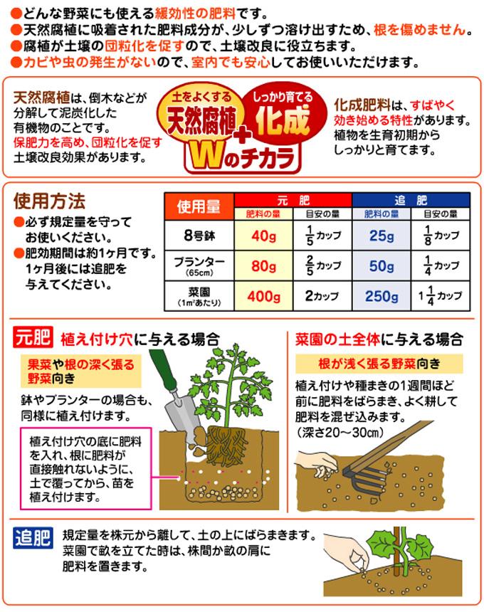 まくだけ!花と野菜の肥料