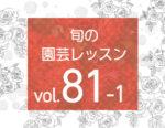 旬の園芸レッスンvol.81「バラの新時代〜ロサオリエンティス  プログレッシオ」を公開しました