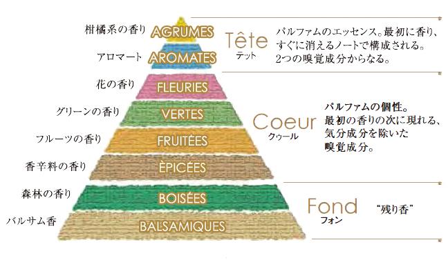 香りのピラミッドとは